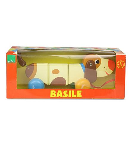 VILAC 巴西尔·伊奎贝狗木拉玩具