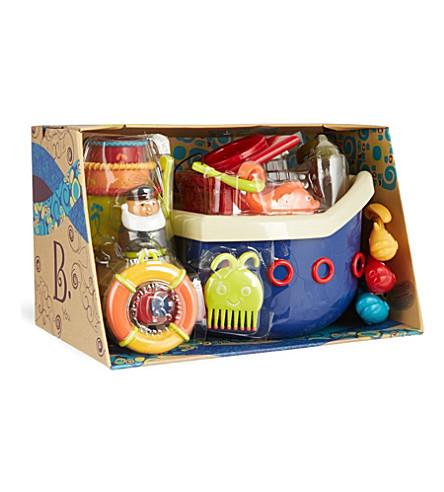 B PRESCHOOL TOYS Fish & splish bath time toy set