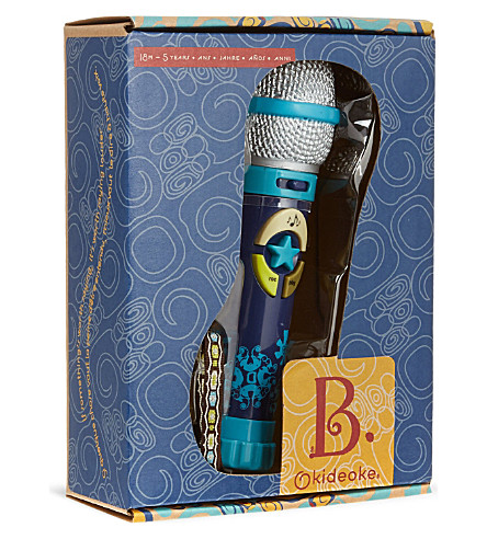 B PRESCHOOL TOYS Kideoke microphone