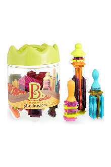 B PRESCHOOL TOYS Stackadoos bristle building blocks