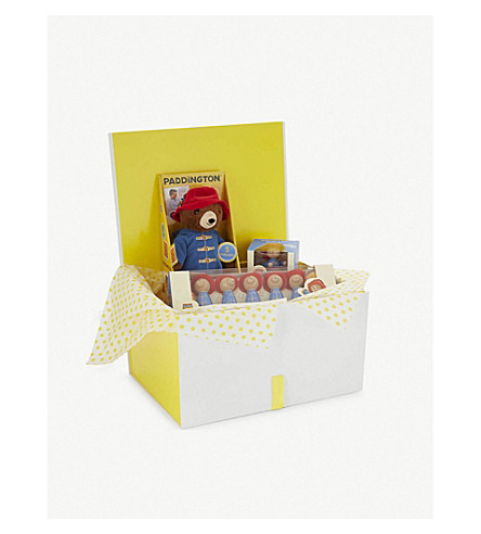 SELFRIDGES Paddington Bear toy hamper