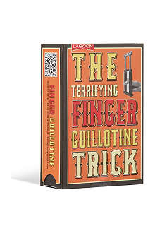 MAGIC ILLUSIONS The terrifying finger guillotine trick