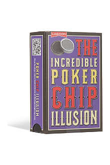 MAGIC ILLUSIONS The incredible poker chip illusion