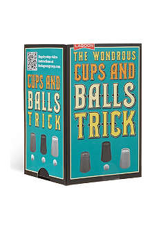 MAGIC ILLUSIONS The wondrous cups and balls trick