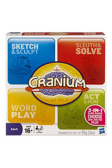 BOARD GAMES Cranium board game