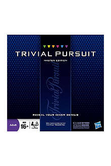 BOARD GAMES Trivial Pursuit Master Edition