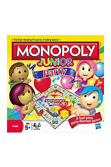 BOARD GAMES Monopoly Junior Party board game