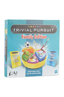BOARD GAMES Trivial Pursuit Family Edition