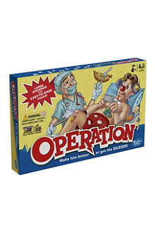 BOARD GAMES Operation board game