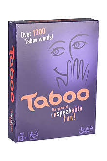 BOARD GAMES Taboo party game