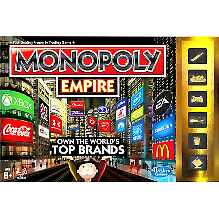 BOARD GAMES Monopoly Empire board game