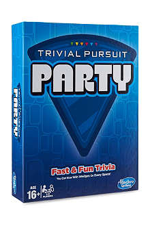 BOARD GAMES Trivial Pursuit Party game