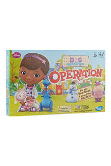 BOARD GAMES Doc McStuffins Operation