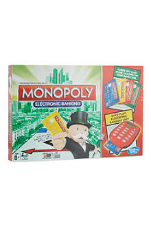 BOARD GAMES Monopoly Electronic Banking game