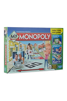 BOARD GAMES My Monopoly board