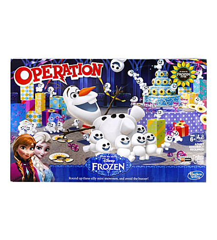 BOARD GAMES Olaf Operation board game