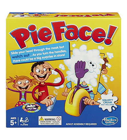 BOARD GAMES Pie face