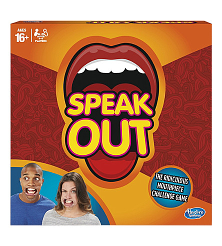 BOARD GAMES Speak Out board game