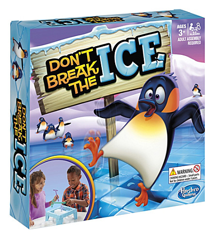 BOARD GAMES Don't Break The Ice board game