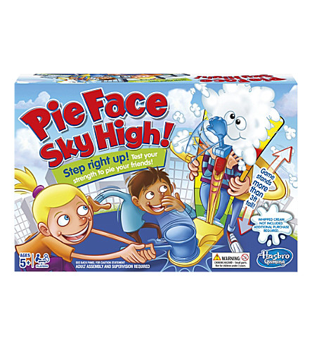 BOARD GAMES Pie Face Sky High game