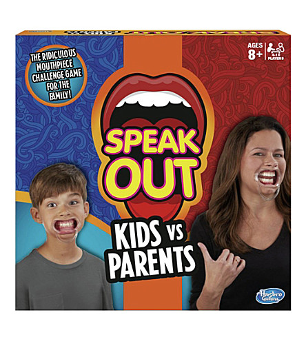 BOARD GAMES Speak Out Kids vs Parents