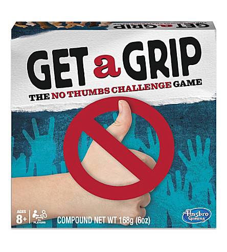 BOARD GAMES Get a Grip board game