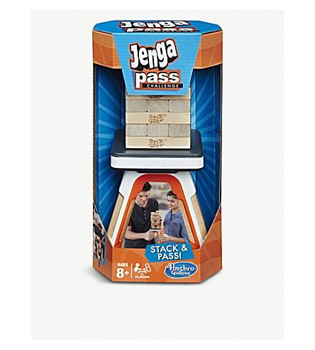 BOARD GAMES Hasbro Jenga Pass challenge game
