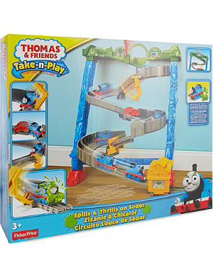 THOMAS THE TANK ENGINE Thomas & friends spills and thrills