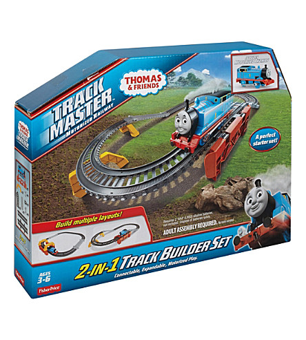 THOMAS THE TANK ENGINE Trackmaster 2-in-1 Track Builder set