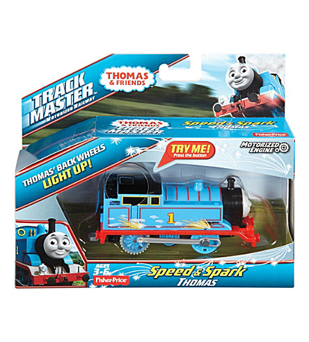 THOMAS THE TANK ENGINE Trackmaster Thomas Speed & Spark engine