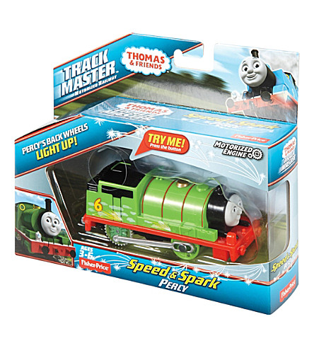 THOMAS THE TANK ENGINE Track Master Speed & Spark Percy playset