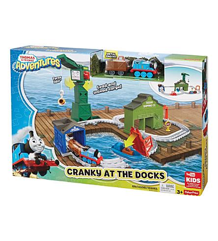 THOMAS THE TANK ENGINE Cranky Docks playset
