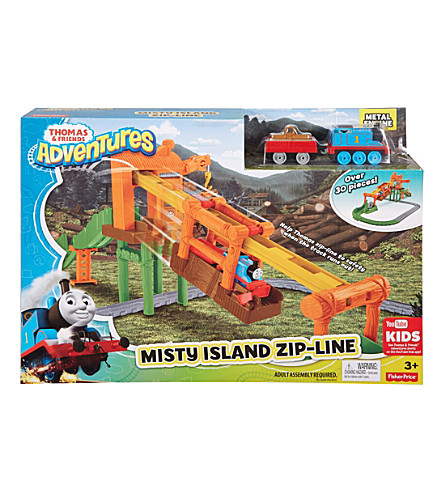 THOMAS THE TANK ENGINE Misty Island zipline set