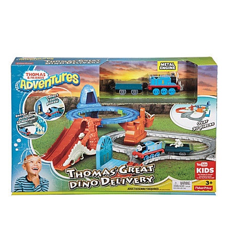 THOMAS THE TANK ENGINE Great Dino Delivery set