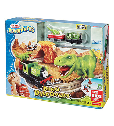 THOMAS THE TANK ENGINE Dinosaur Discovery playset