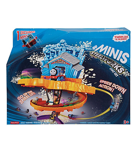 THOMAS THE TANK ENGINE Minis steelworks stunt set