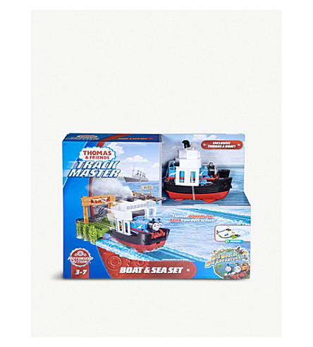 THOMAS THE TANK ENGINE Thomas and Friends Trackmaster boat and sea set