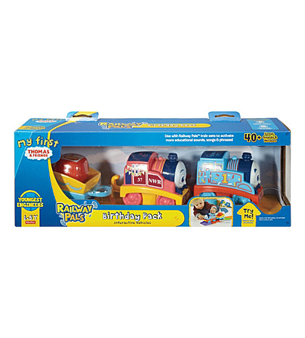 THOMAS THE TANK ENGINE My First Thomas & Friends Railway Pals Birthday Pack