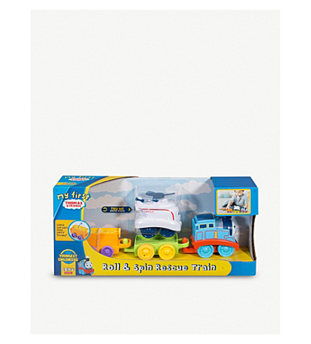 THOMAS THE TANK ENGINE My First Thomas Roll and Spin Rescue play set