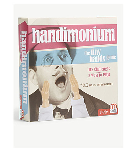 BOARD GAMES Handimonium game
