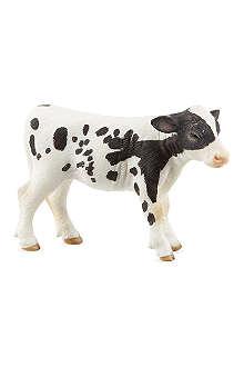SCHLEICH Holstein calf figurine