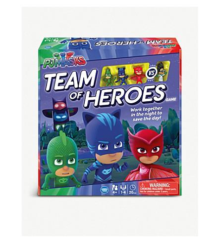 PJ MASKS Team of Heroes board game