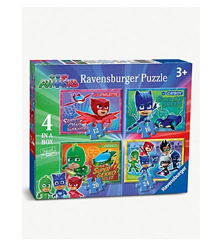 PJ MASKS 4 in a box jigsaw puzzle