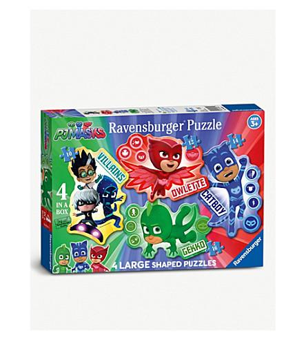 PJ MASKS Ravensburger 4-in-1 jigsaw puzzles