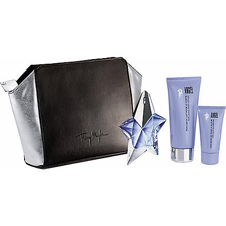 THIERRY MUGLER Angel refillable eau de parfum 25ml gift set