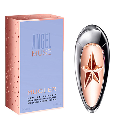 THIERRY MUGLER Angel Muse 填充化妆品卵石香水