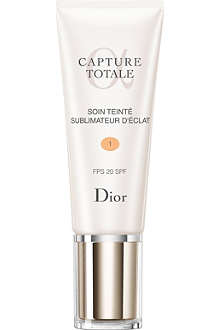 DIOR Capture Totale radiance reveal tinted moisturiser SPF 20