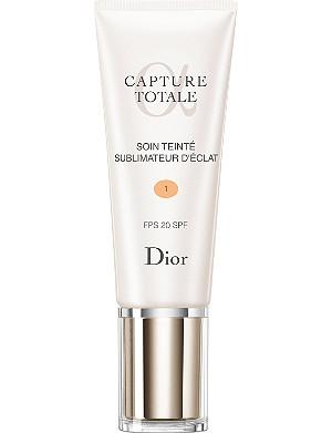 DIOR Capture Totale radiance reveal tinted moisturiser SPF 20