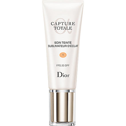 DIOR Capture Totale radiance reveal tinted moisturiser SPF 20 (01