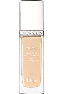 DIOR DiorSkin Nude Natural Glow radiant fluid foundation SPF 15